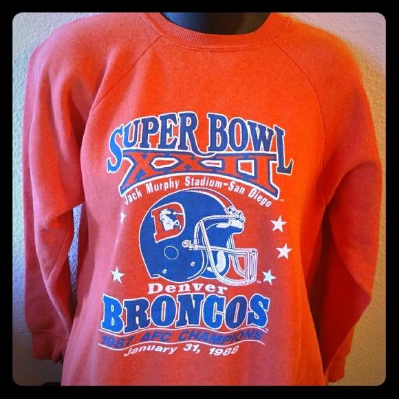 5217efc4 Vintage Women's Broncos Super Bowl Sweater